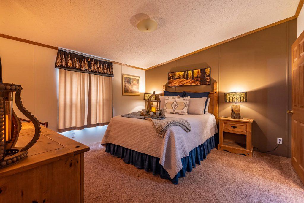 Romantic cabin rental Indiana